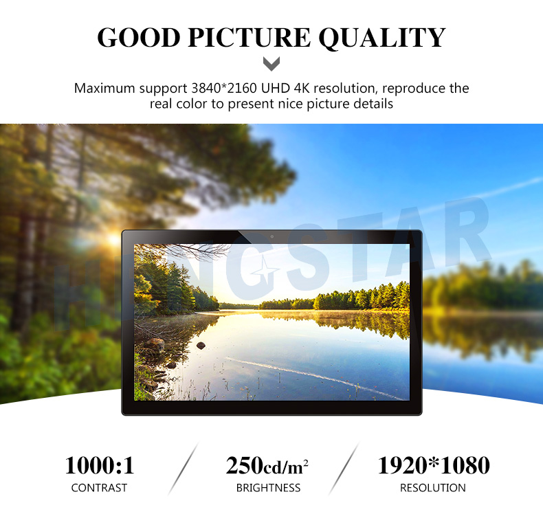 "14"" 17' 22"" 24 27 Inch Android Industrial Tablet PC"