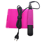 Hair Straightener Curling Iron Salon Styling Tool Anti-heat Durable Silicone Heat Resistant Mat