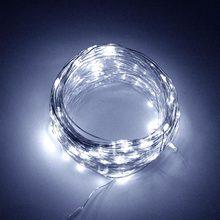 Светодиодный светильник на солнечной батарее, сказочный светильник s Flash, водонепроницаемый, для Рамадана, вечерние, рождественские, праздн...(Китай)
