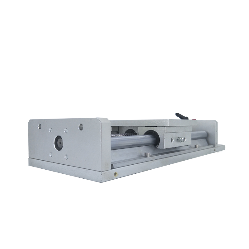 linear slide for xy table linear stage with ball screw pitch 5mm for CNC application LYKR100S linear guide rail