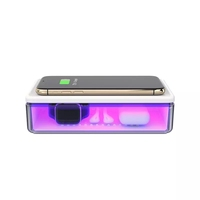 2020 Multifunction UV Phone Sterilizer Portable Disinfection Box UV Light Sterilization Wireless Charger