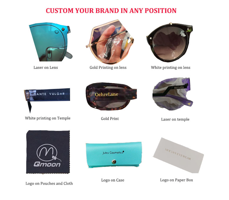 Quality Retro Rimless Stylish Sunglasses Sun Glass Shades Promotional Sun Glasses