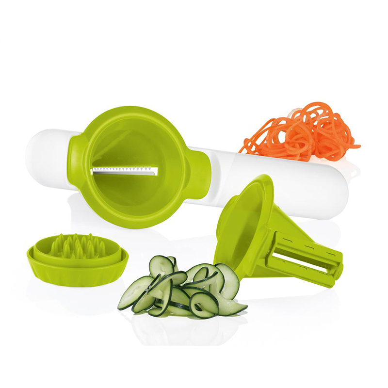High quality new style kitchen manual rotating multi-function vegetable <strong>spiral</strong> vegetable <strong>cutter</strong>