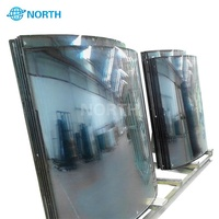 Lowe hollow glass tempered insulating glass for building curtain wall