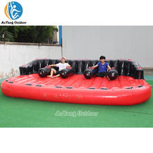 5 ที่นั่ง Surf Donut Boat Coral Donut Tube Inflatable สกีน้ำ Rafts