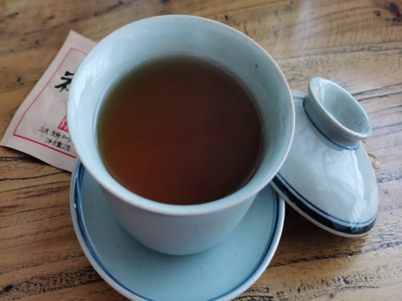 Gout pain relieve herb tea in bag