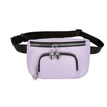 Повседневные нагрудные сумки для женщин Fanny Bum пояс кошелек женская классическая текстура Креативный дизайн шикарные ПУ повседневные сумки...(Китай)