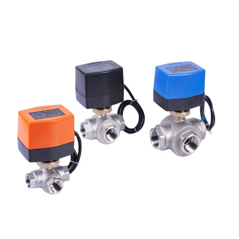 12VDC SS304 NPT/BSP Stainless Steel Control 2-Way/3-Way Electric Ball <strong>Valve</strong> For Drinking Water