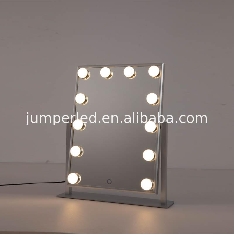 Ip65 Rating Safety Listed Display Hotel Home Custom Makeup Lighted Dressing Room Bathroom Tv Mirror