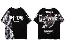 11 BYBB'S DARK Streetwear Мужская футболка с принтом порочного медведя 2020 Harajuku шорты для скейтборда с рукавом в стиле хип-хоп повседневные хлопковые фу...(Китай)