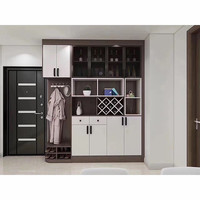 Factory Directly UV Viewing Custom Made Home Hallway Cabinet Furniture Set