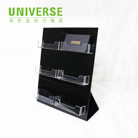 UNIVERSE visiting card holder display rack clear acrylic card box