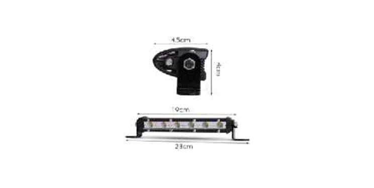 LYAF 7-52 inches LED strip bar high power bright  work light for vehicle