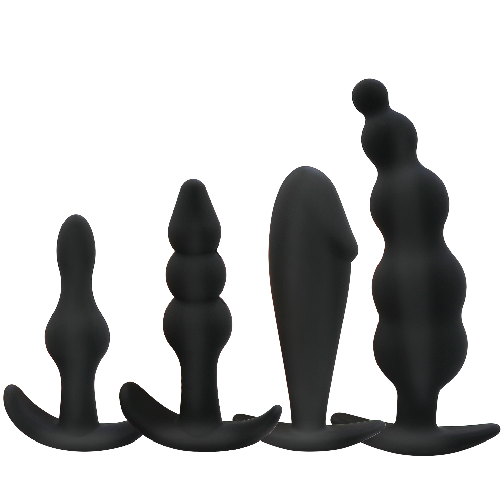 Silicone Anal Plug Butt Plug Open Expander Dildo Prostate Massager Anal Dilator Male Masturbator Women Men Couples