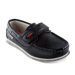 China black children genuine leather fit kids back to school shoes