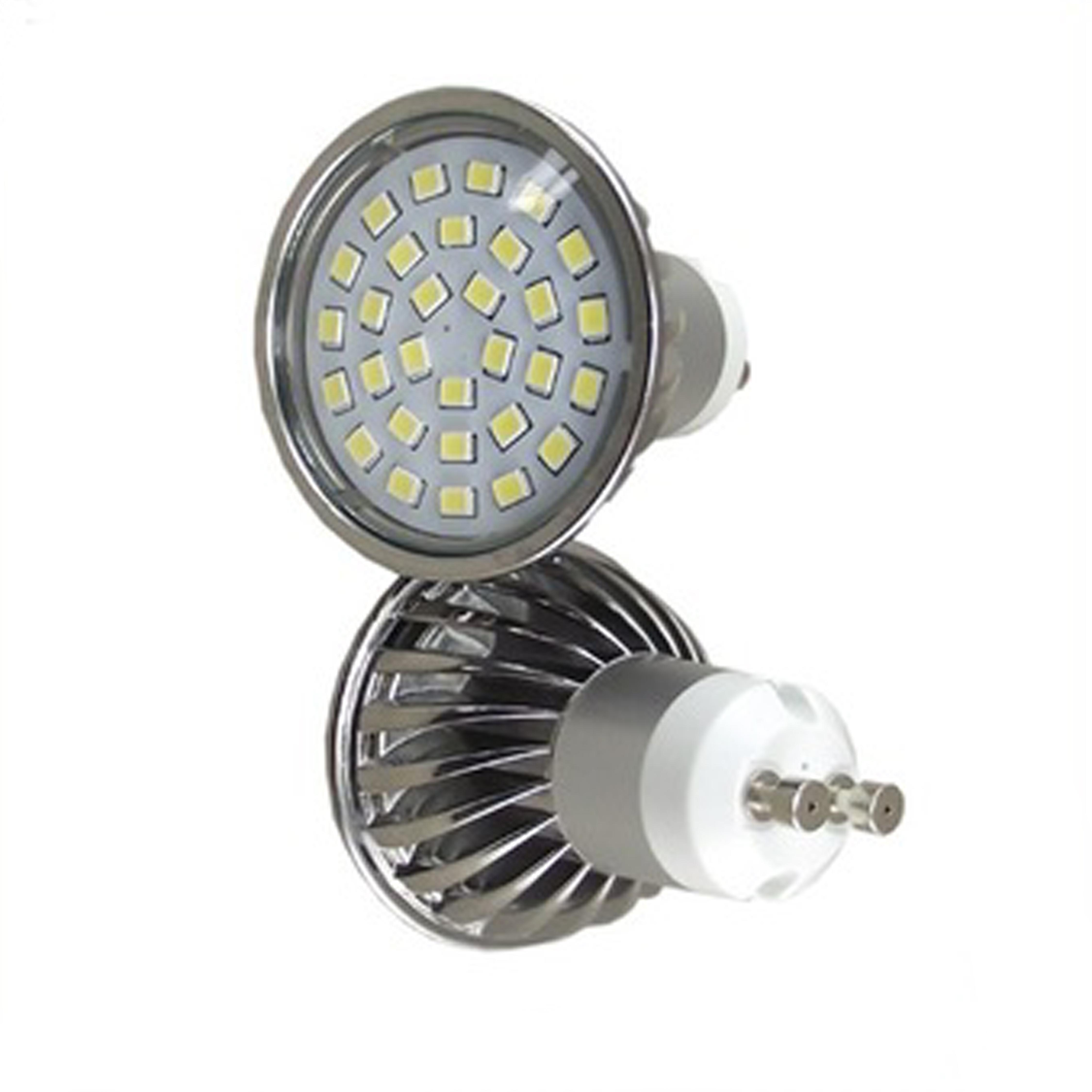 led ceiling light 27smd 2835 5w AC230V CRI80 450lm 2800K GU10 led spot light
