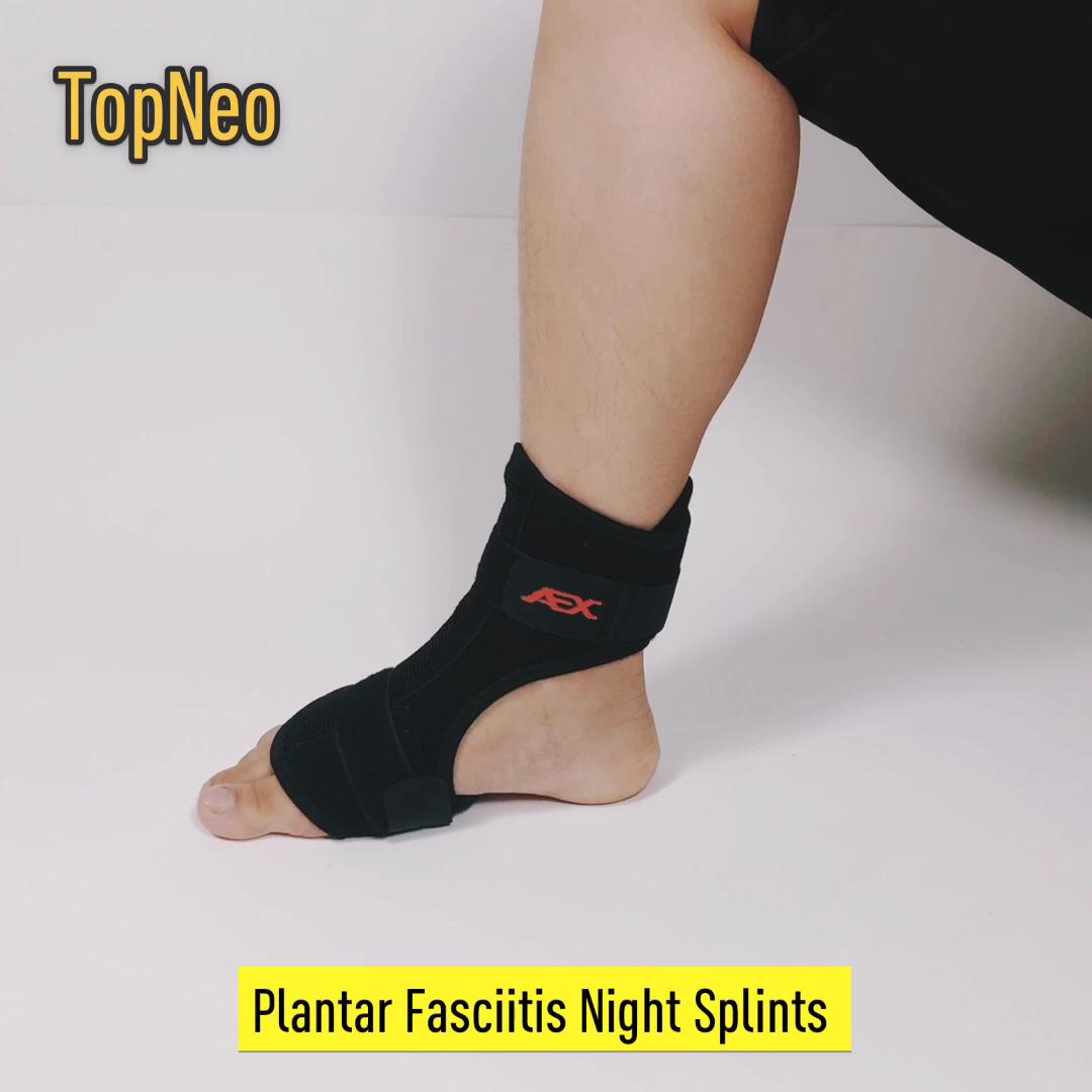 Fasceíte plantar Noite Splint Ortopédicos Suporte Brace splint Queda Do Pé Ajustável
