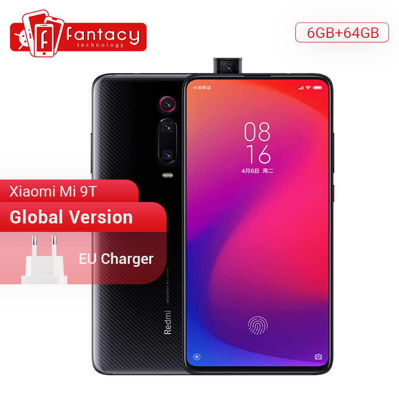 Globale Version Xiaom Redmi K20 Xiaomi Mi 9 T 9 T 6GB 64GB Snapdragon 730 Octa Core Smartphone 6,39 ''AMOLED 48MP Kamera NFC