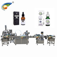 High speed hemp oil filling capping machine super september new design