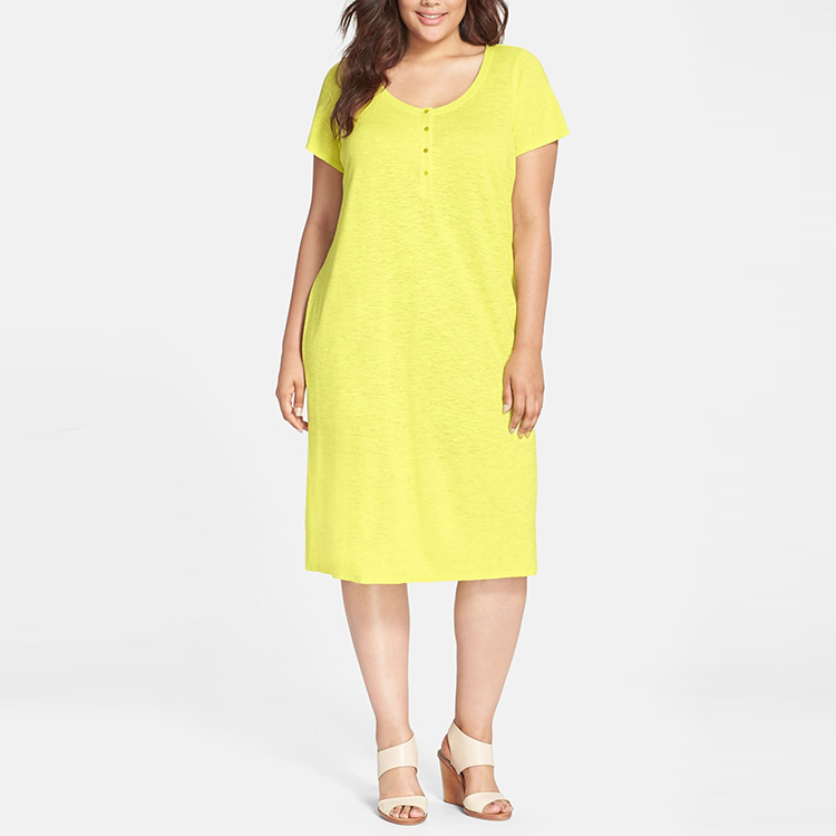 Plus Size Women Clothing Manufacturer Relaxed Fit Hemp Dresses For Women -  Buy Dresses For Women,Hemp Dresses For Women,Plus Size Women Clothing ...