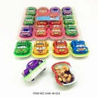 Racing Toy Car Shaped Biscuits Candy Eggs Surprise Chocolate