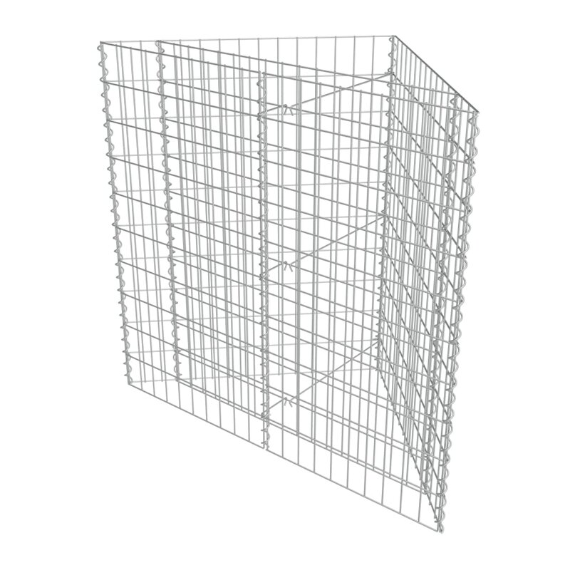 Gabion mesh Galvanized Eco-friendly Easy to assembly Gabion