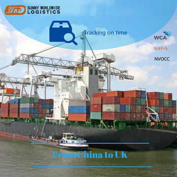 Fast Cheap Sea Shipping Freight Forwarder FCL LCL Sea Shipping From China To UK