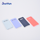 Oem Soft Touch Business Style Liquid Silicone Phone Case For Samsung Galaxy S10 S 10 Cases