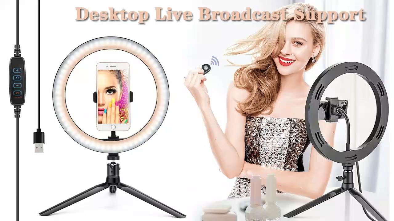Factory Wholesale Beauty Lamp Tiktok live Ring Light