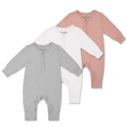 Bamboo baby long sleeve rompers Custom Welcomed Unisex infants baby wear