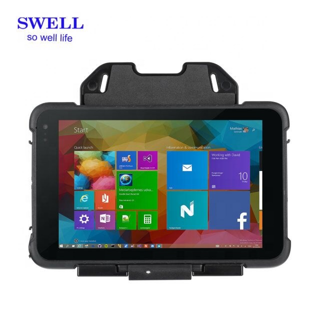 8inch rugged IP67 1280 800 IPS LCD 8mp back camera AF 2D scanner 4gb ram 64gb rom Z8350 CPU rugged tablet pc