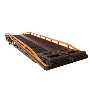 Standard Container Adjustable Hydraulic Mobile Loading Ramp Dock Ramps For Sale