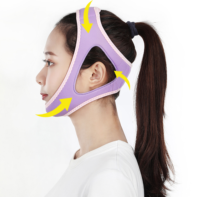2019 new products amazon new invention health &amp; medical equipment sleep trainer anti snore chin strap anti belt snoring <strong>device</strong>