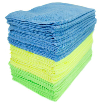 Best Selling 10 Pack of Lint Free Microfibre Magic Cleaning Cloths For Polishing, Washing, Waxing And Dusting