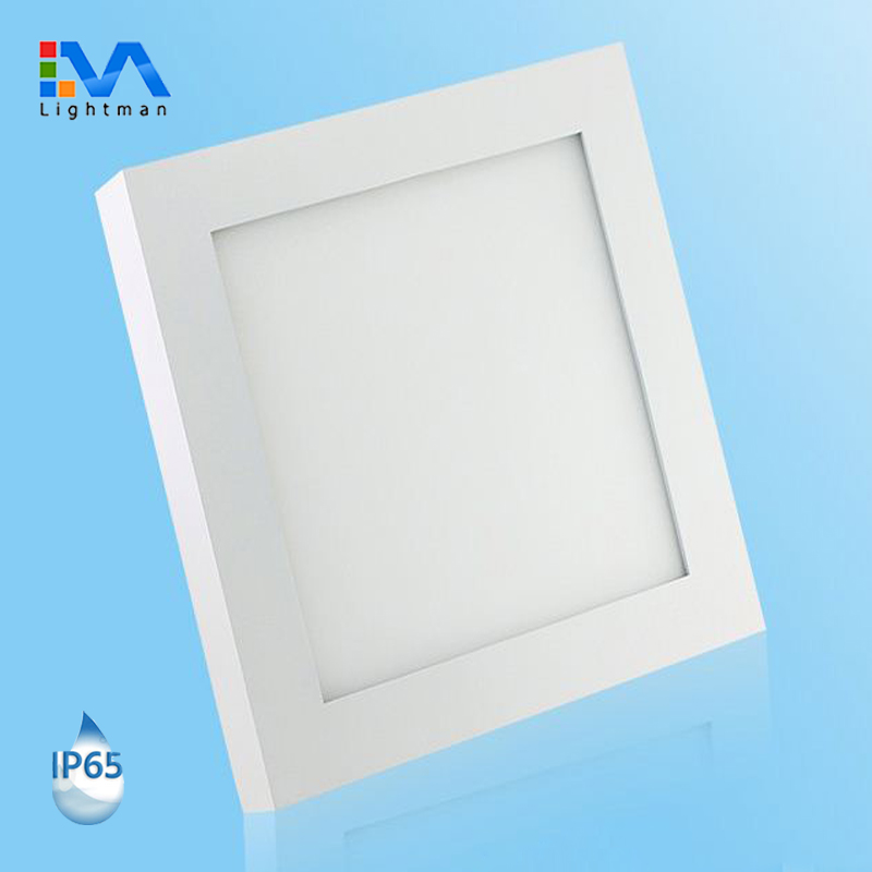 Good price waterproof IP44 3w 6w 9w 12w 18w 24w flat led panel lamp recessed round ultra thin slim led ceiling panel light