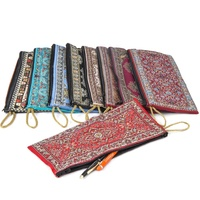 Woven Pencil Case With Colourful Turkish Woven Fabric with Kilim Pattern From Turkey