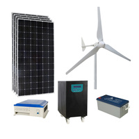 2KW 3KW 5KW Green Energy Power System with Small Wind Turbine and Solar Modules