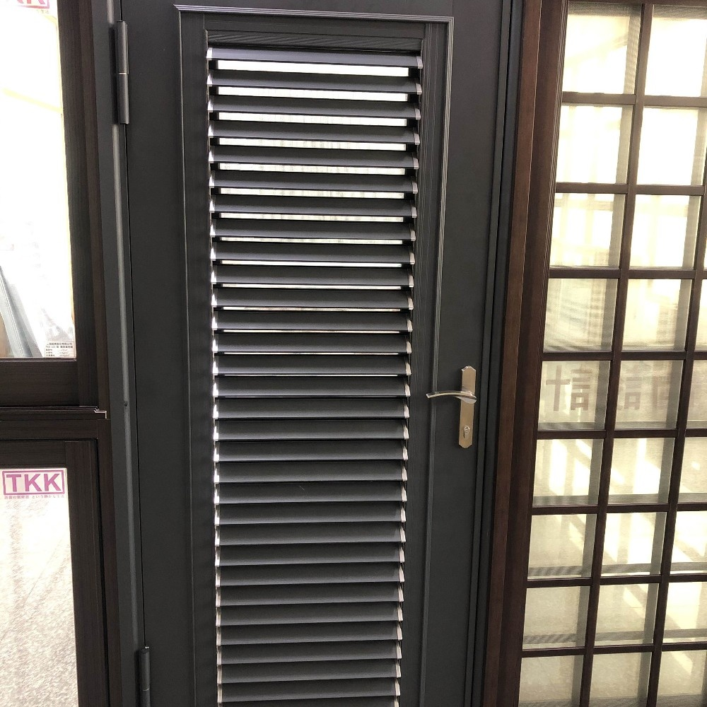 TKK Venezianischen Louvre Tür in Aluminium legierung sicherheit tür