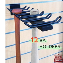 Sport shop weichen baseball slowpitch bat display