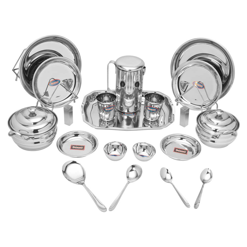 STAIN LESS STEEL   DINNER SET 20 PCS