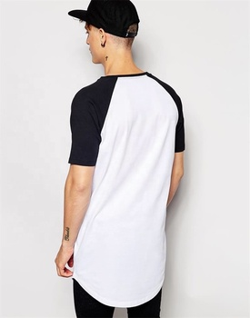 100% Cotton Men-Scoop Baseball Tshirt
