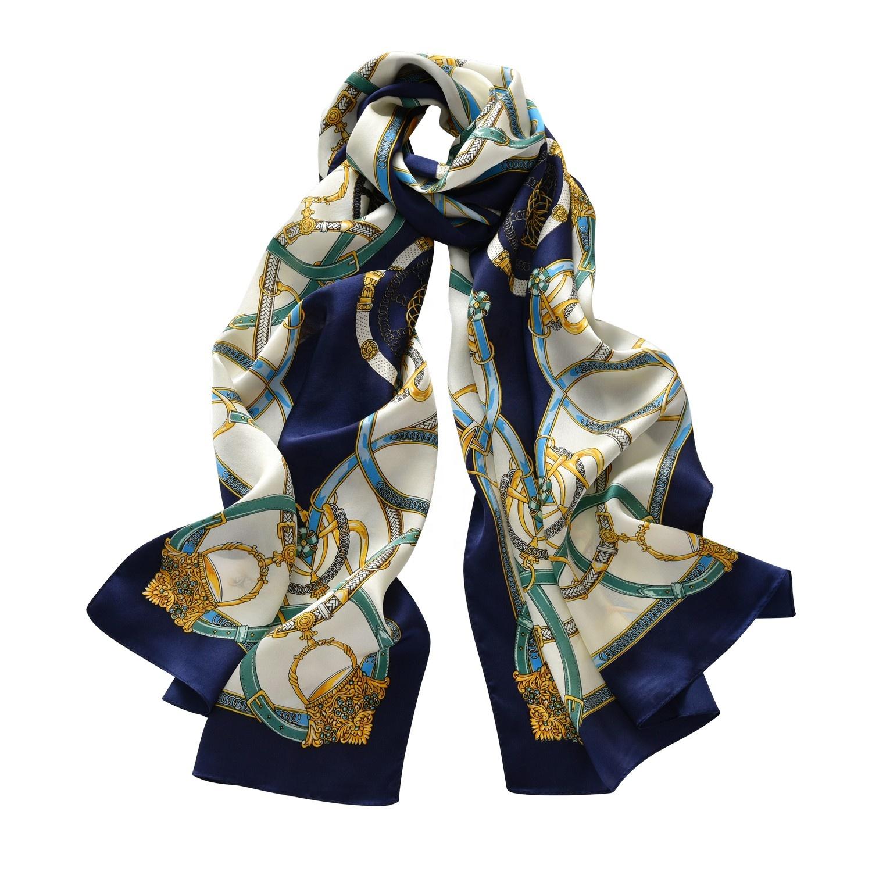 100% ผ้าไหมซาตินพิมพ์ผ้าพันคอ 50*170 ซม.2020 สี่เหลี่ยมผืนผ้าผ้าไหมผ้าพันคอ