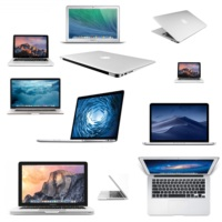 Apple Macbook Air / Pro | 11-13inch | 64GB / 128GB /256GB / 500GB / 750GB / 1TB | RAM: 4 GB / 8 GB / 16 GB | (Refurbished)