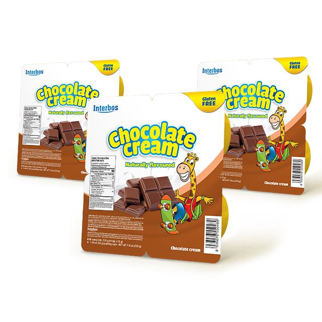 Best price Premium Quality Delicious Bulk Milk Cream 55 gram with chocolate flavor, beverage food from Vietnam
