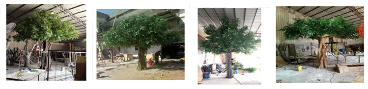 Customized large artificial green ginkgo tree, 350cm height ginkgo biloba tree plant for sale, artificial tree ginkgo price