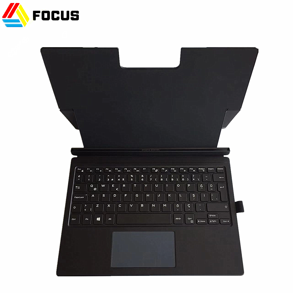 High Quality Laptop for Dell Latitude 12 7275/XPS 12 9250 Turkish Tablet Dock Layout PN WKCW2