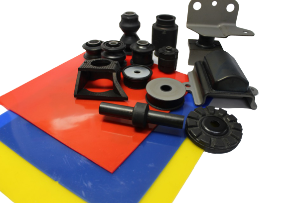 Spare rubber Parts, custom made