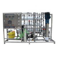 Reverse Osmosis Waste Water Recycling Machine / RO Water Recycling Equipment / Water Purification System