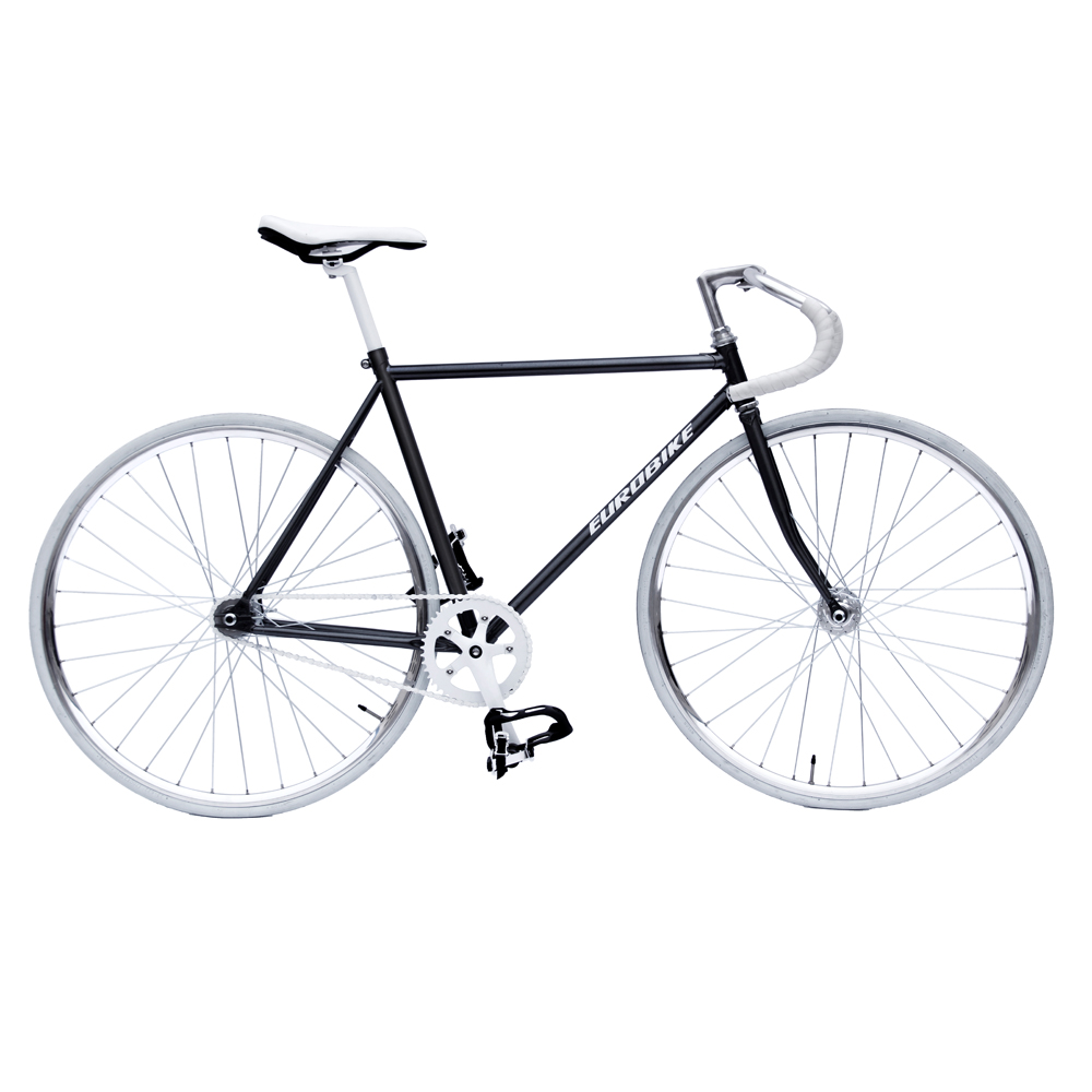 "Road Bike Lugged Fork 1-1//8/"" Threadless 700c Fixie Gear Single Speed CR-MO"
