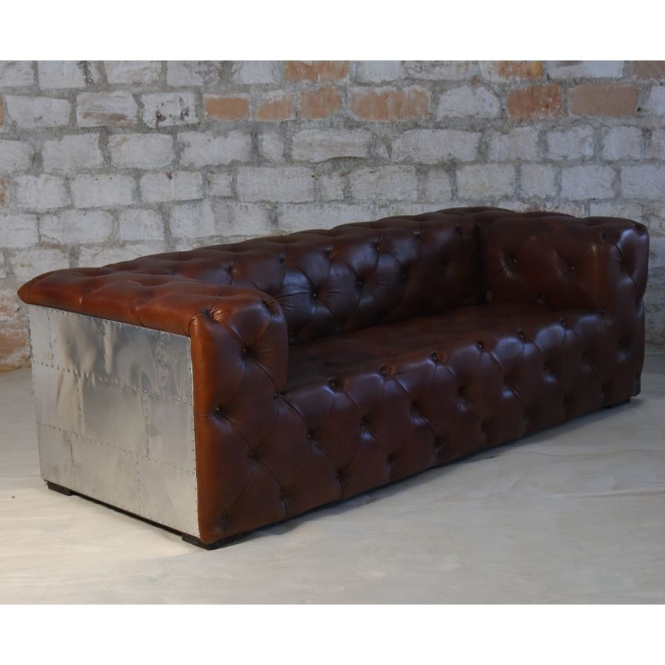 Vintage Chesterfield Genuine Leather